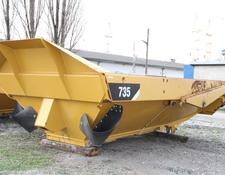 Caterpillar KIPPER TIPPER BODY DUMPER CATERPILLAR CAT 735 FLAP DOOR