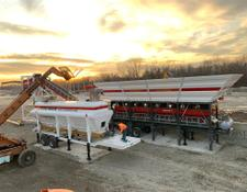 Constmach DELIVERY FROM STOCK! MOBILE CONCRETE PLANT, 120 m3/h CAPACITY