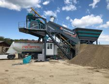 Constmach 60 m3/h MOBILE CONCRETE BATCHING PLANT, FROM EUROPE S BEST SELLE