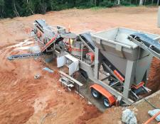 Constmach 250 -300 tph MOBILE CRUSHING PLANT FOR HARD STONES