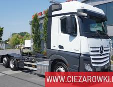 Mercedes-Benz Actros 2545 , E6 , 6x2 , Retarder , chassis 7m , ACC , 2 x bed