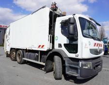 Renault garbage truck Premium 320DXI , E5 , 6x2 , SEMAT 21m3 , steer axle , 3-seats ca